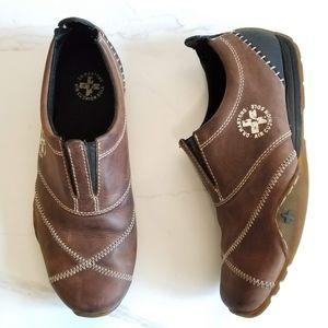 Dr. Martens 12292 Brown Leather Loafers Men's Shoe